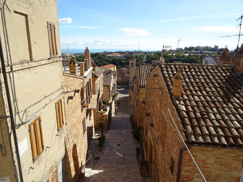 Улица и крыши