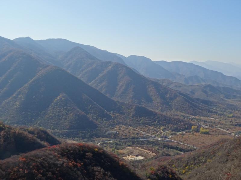 Долина - вид перед спуском