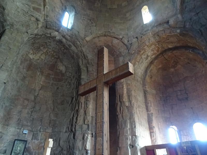 Внутри собора Джвари