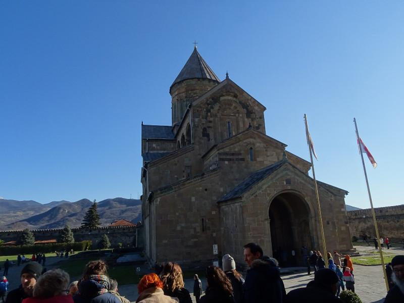 Собор Светицховели от входа