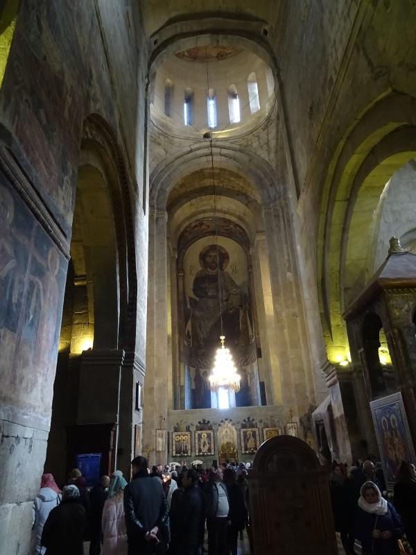 Собор Светицховели изнутри
