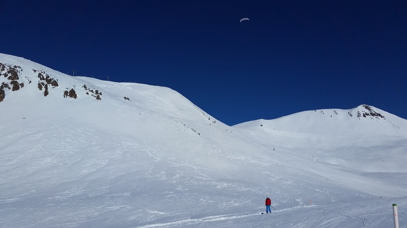 Вид на Западную Садзеле (3275 м)