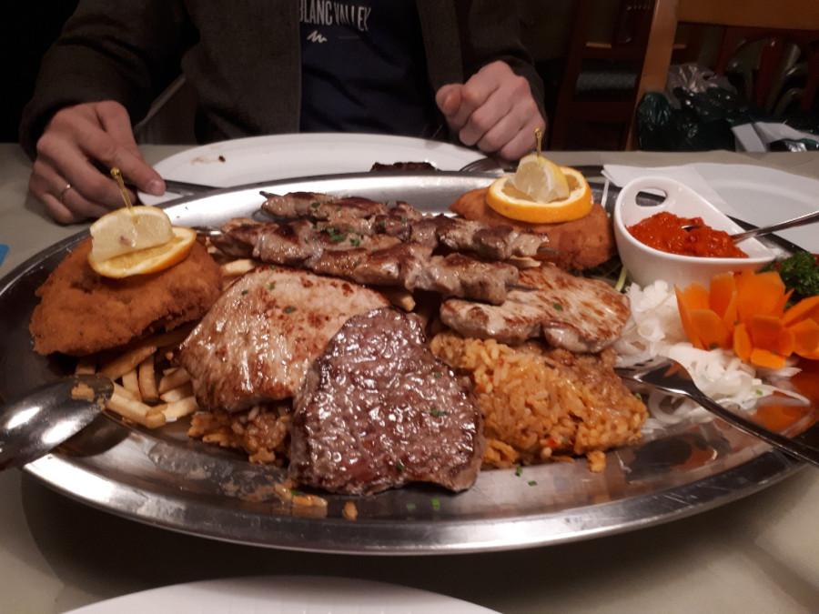 Еда в Гармише