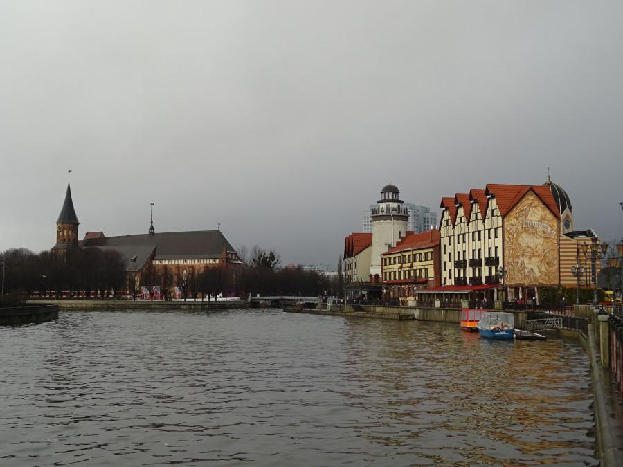 Рыбная деревня и собор