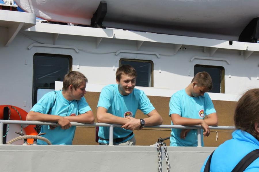 Пацаны на борту