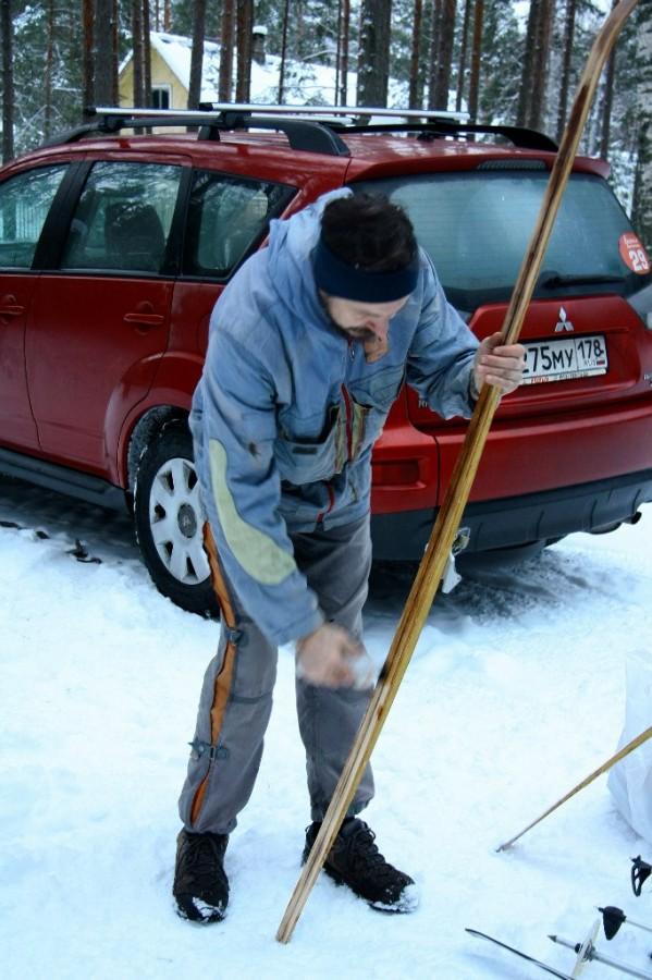 Смазка лыж
