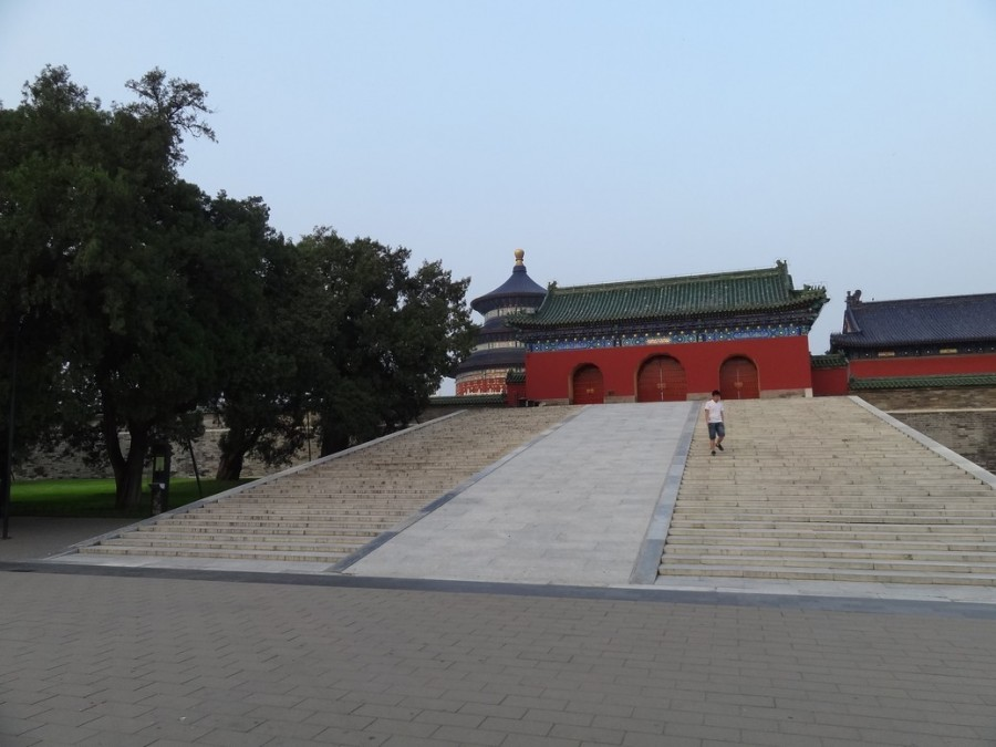 Западные ворота храма неба