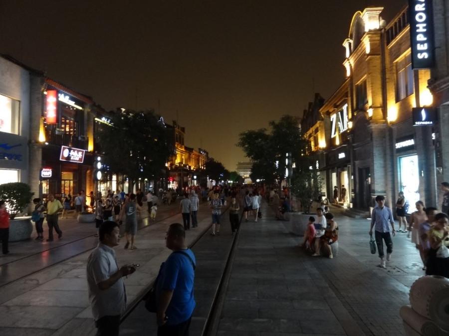 Центральная туристическая улица