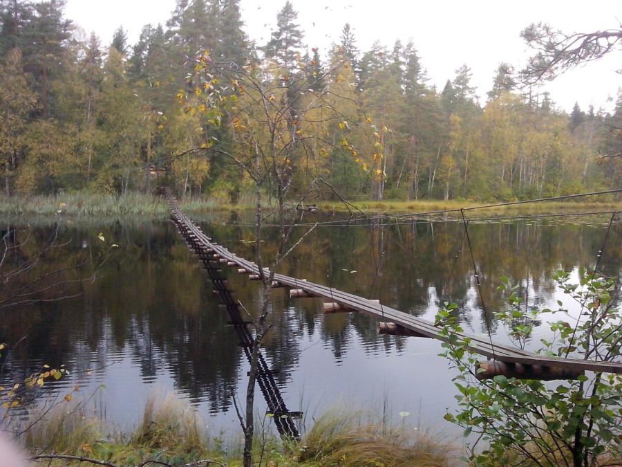 Мост через Брусничное