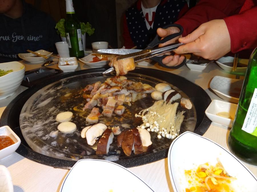 Корейская раклетница