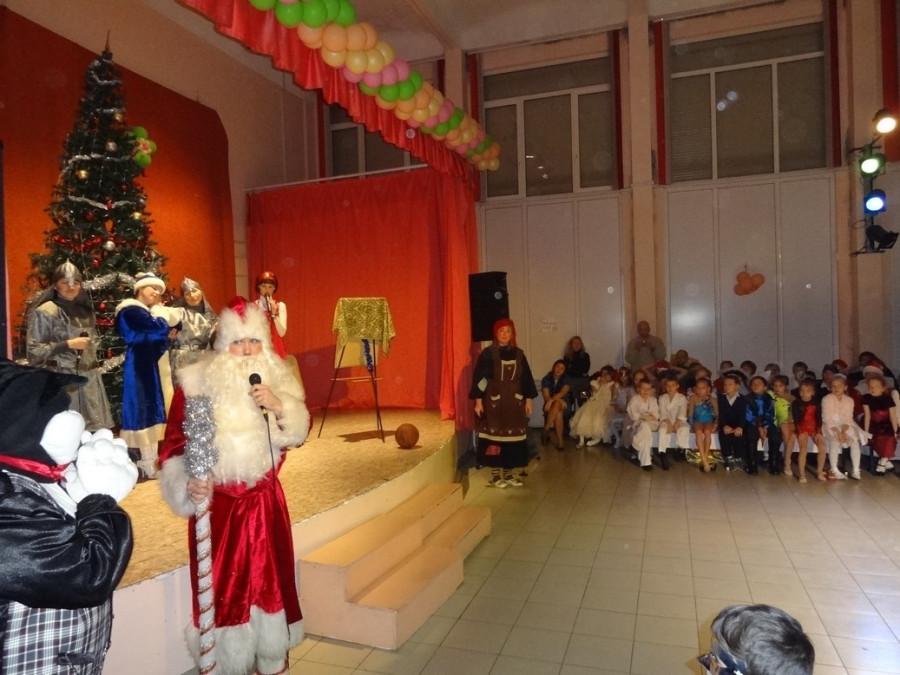Те же и Дед Мороз