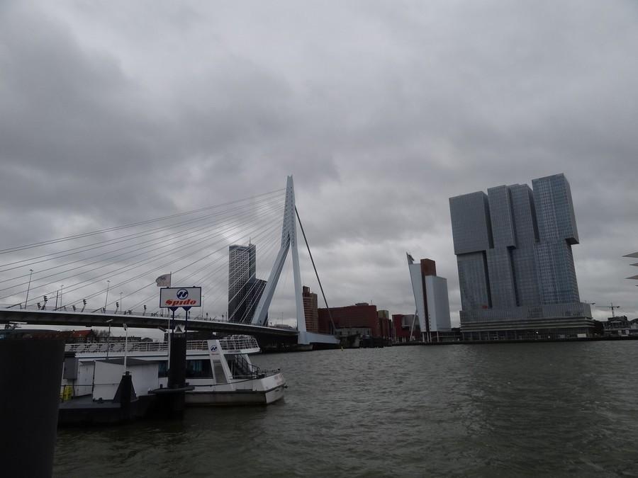 Мост и новые небоскребы