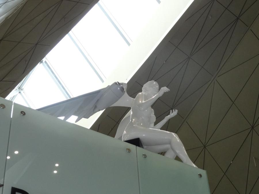 Ангел сидящий