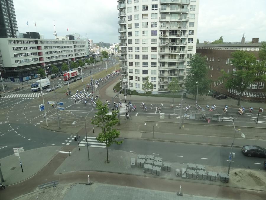 Велогонка из окна