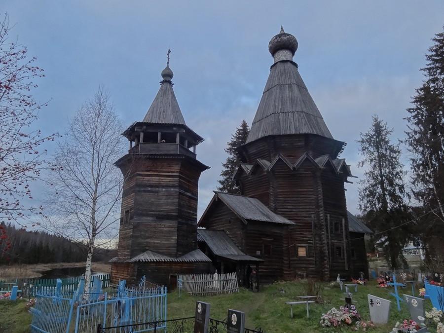 Согиницы. Никольская церковь