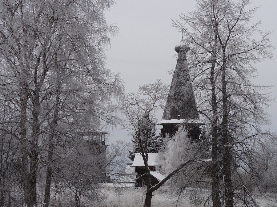 DSC05499 Рождественская церковь в Гимреке. На подходе.