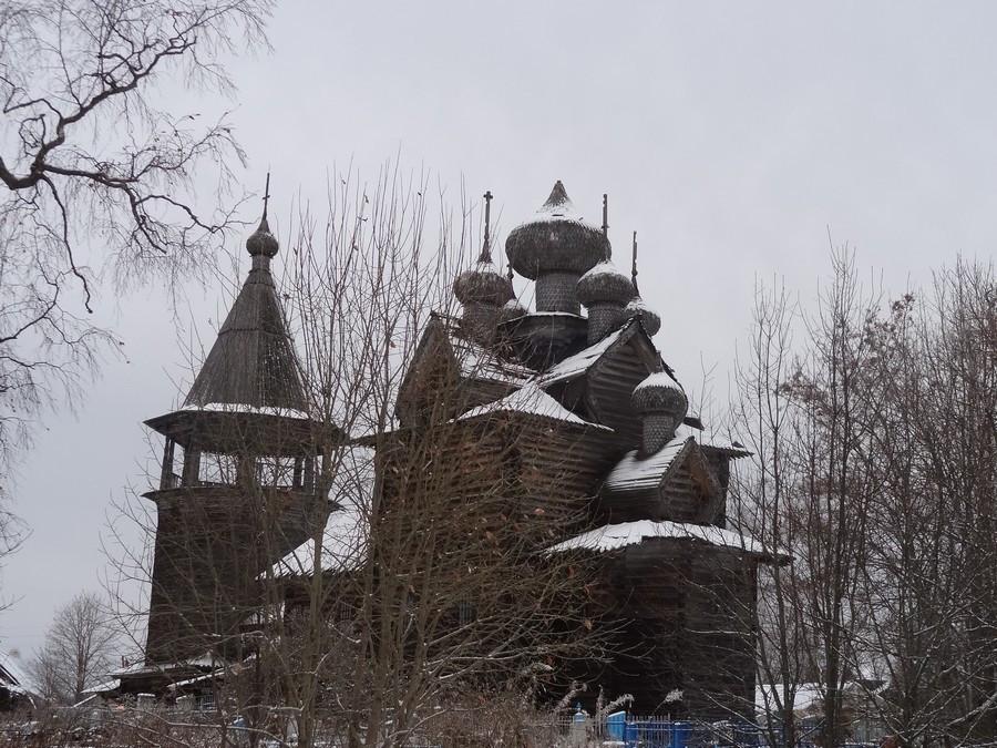 Деревня Щелейки - церковь Дмитрия Мироточивого.
