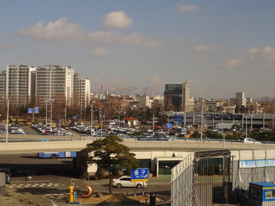 Вид из второго Сеульского аэропорта