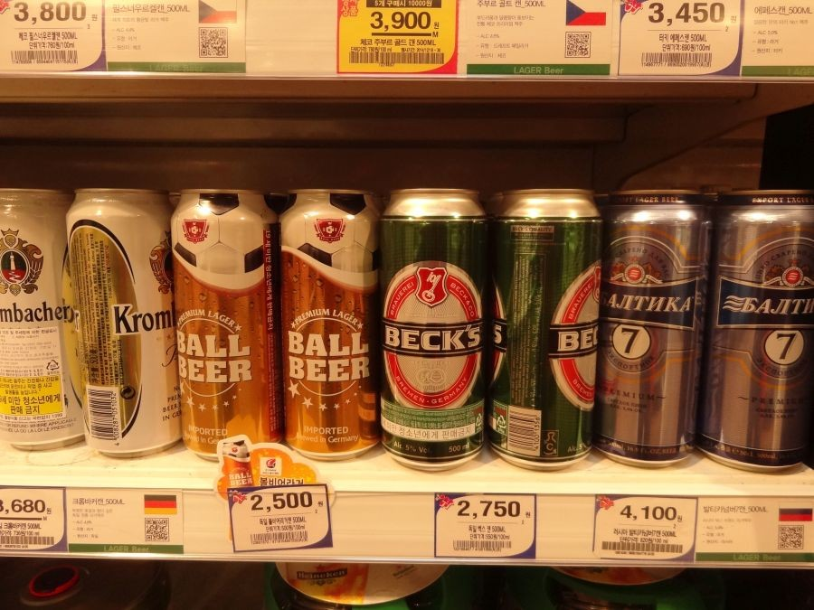 Дорогое пиво.