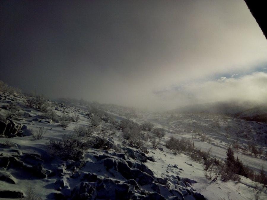 Въезжаем в туман