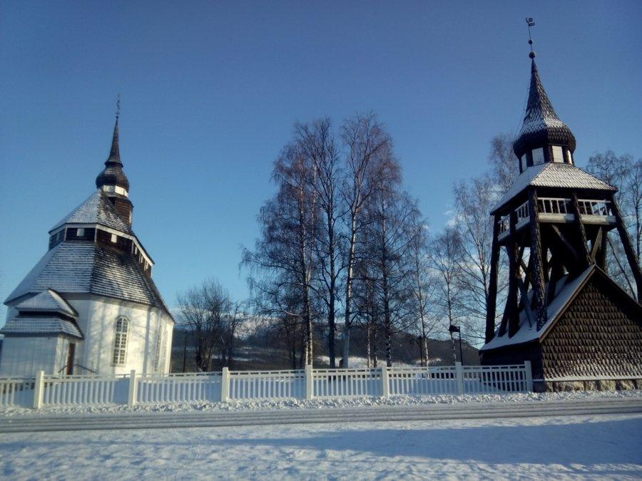 Церковь в деревне Вемдален