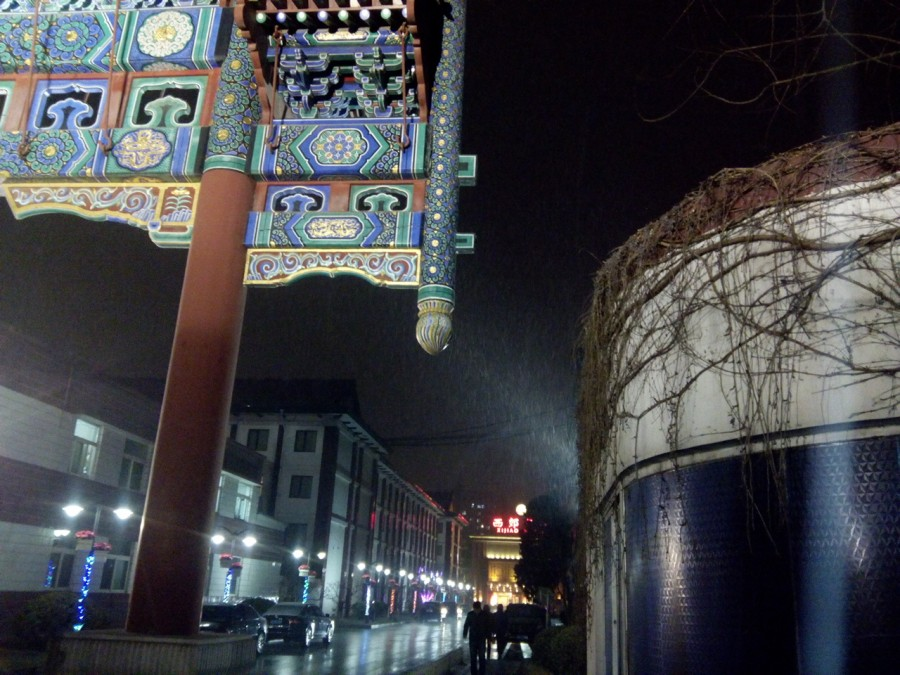 Снег в Пекине