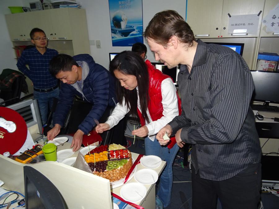 Олег и торт