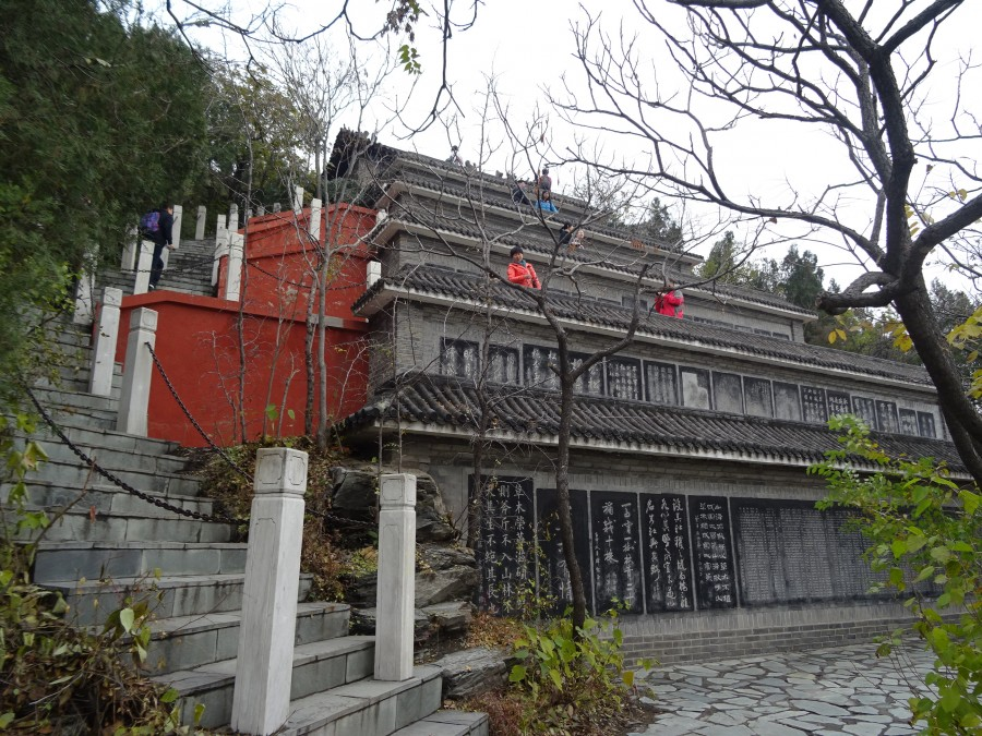 Террасы на пути к храму