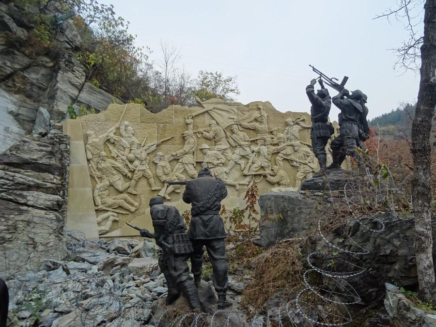 Памятник битве.