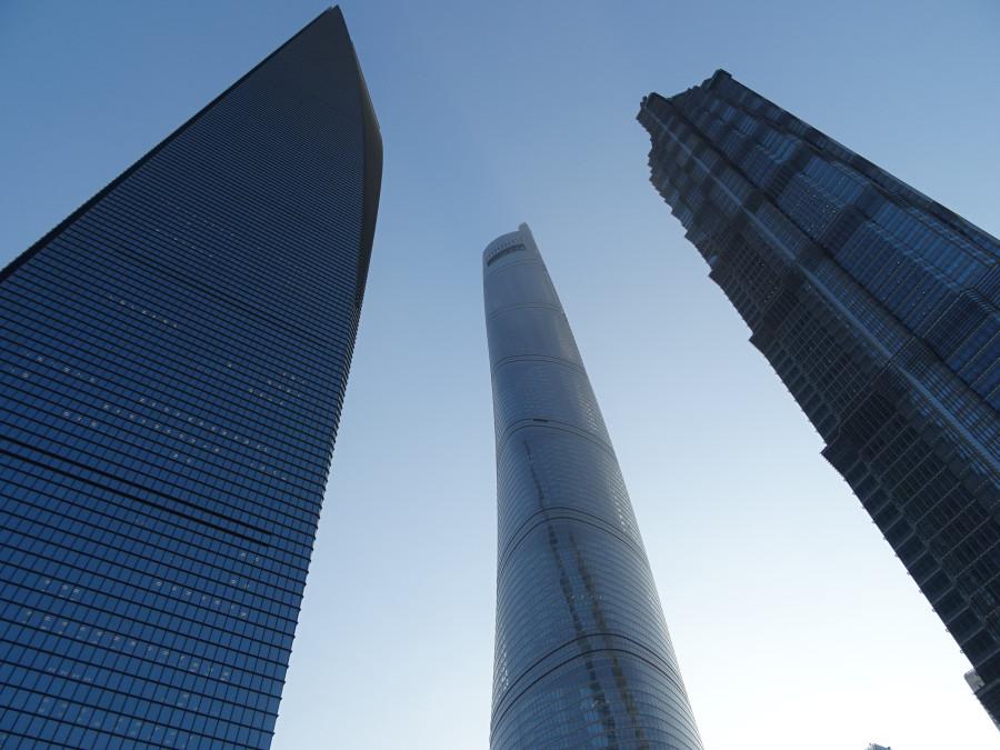 Три небоскреба