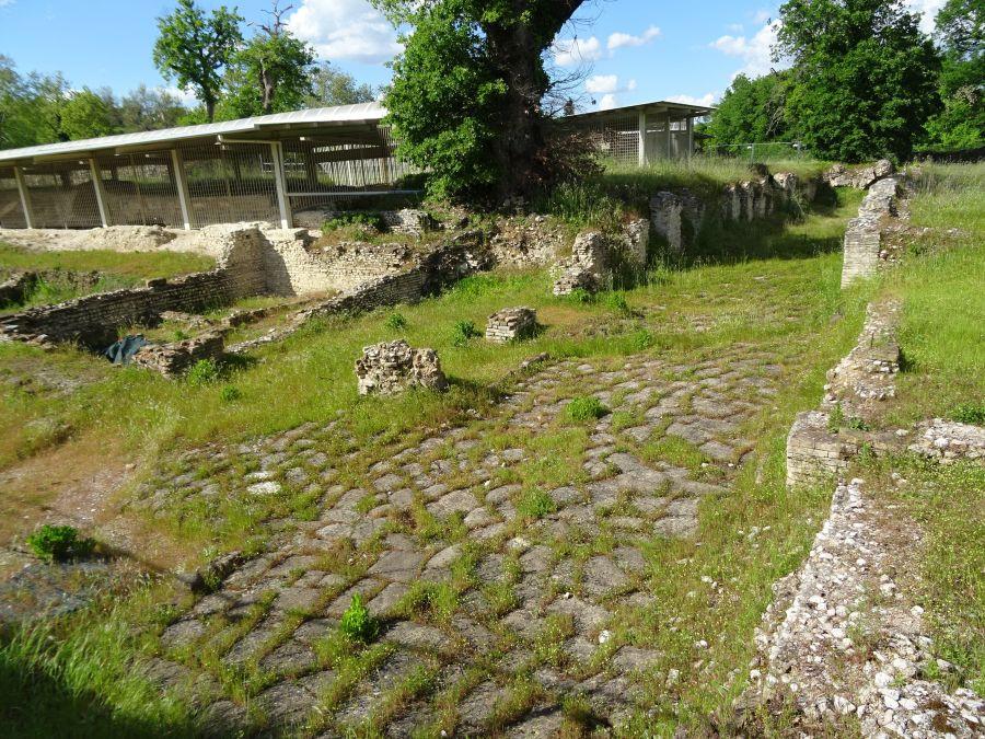 Урбс Сальвия - римская дорога
