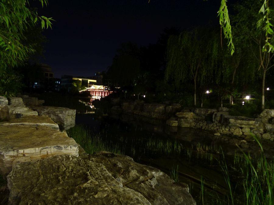 Вид от моста