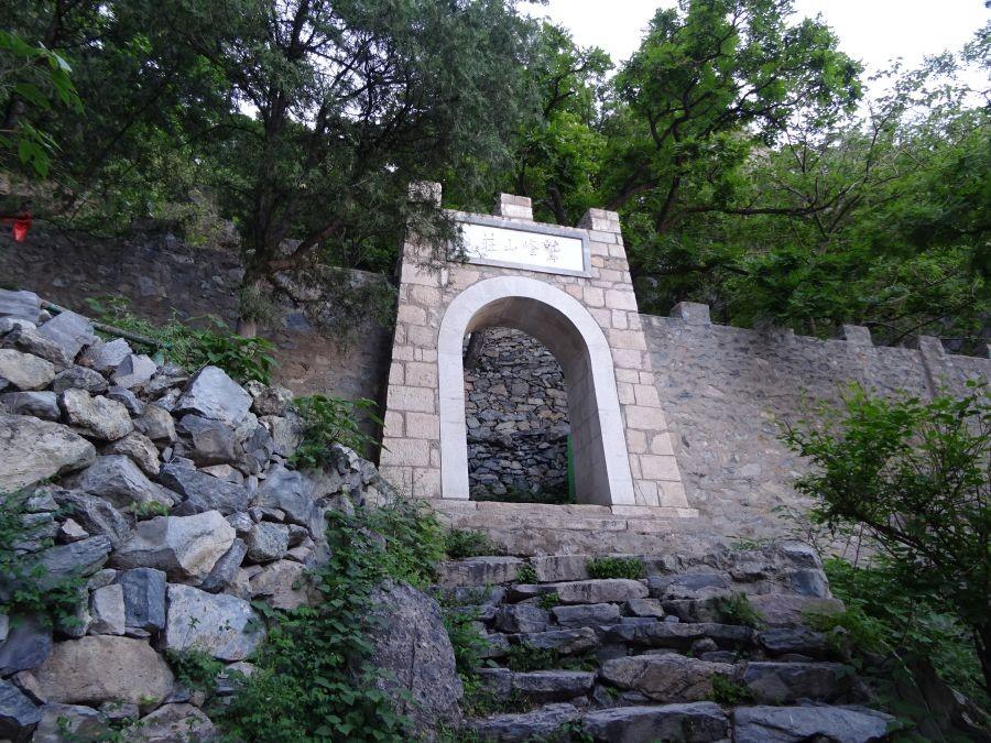 Ворота вид снизу