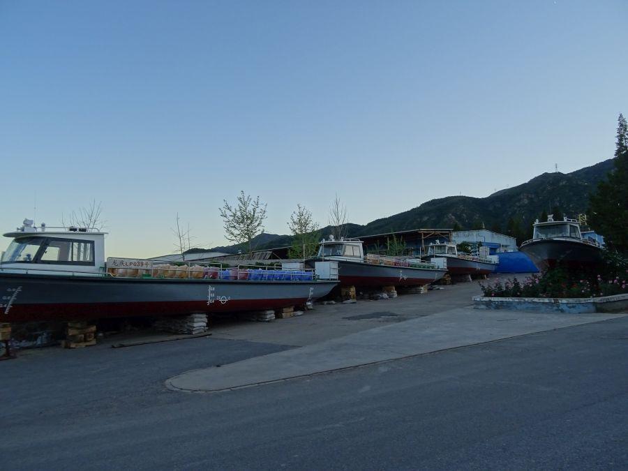 Корабли в горах Китая