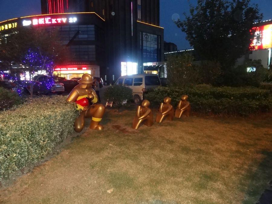 пожарный и дети