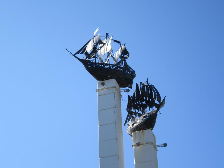 Корабли -символ Петропавловска