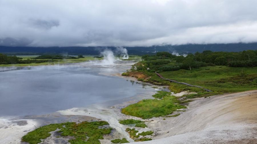 Кальдера - озеро 1