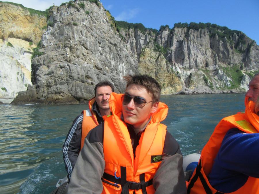 Серега на лодке
