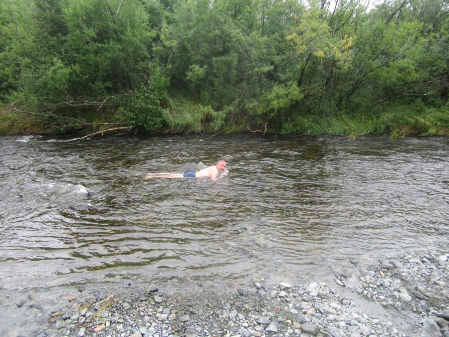 Охлаждение в речке
