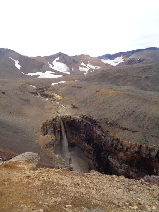 Каньон Опасный и река Вулканная