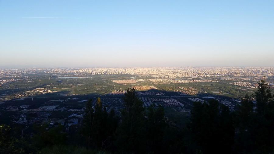 Пекин предзакатный : общий вид