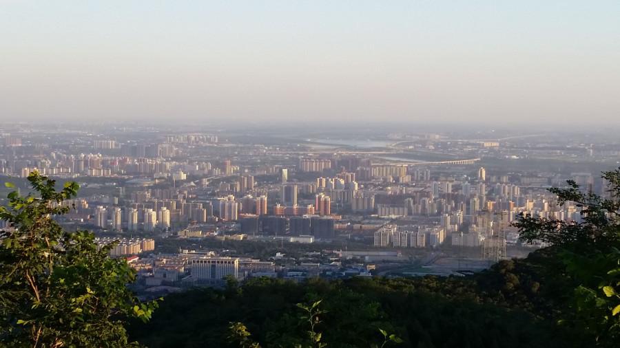 Пекин предзакатный: интересный водоем