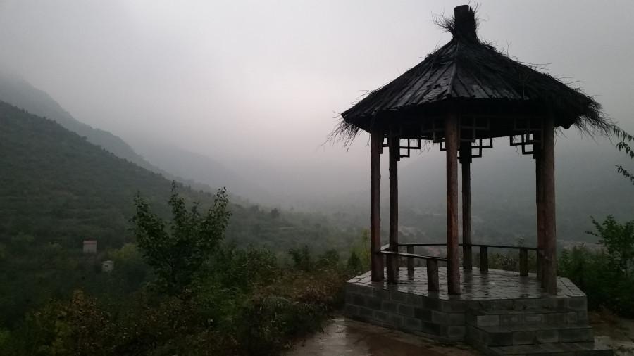 Пагода в тумане