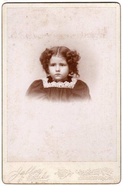 "Edith L Hoover - A Merry Xmas ""96"" - Harrisburg, Pennsylvannia (FRONT)"
