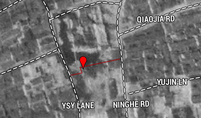 1939 aerial photo. Source: Virtual Shanghai