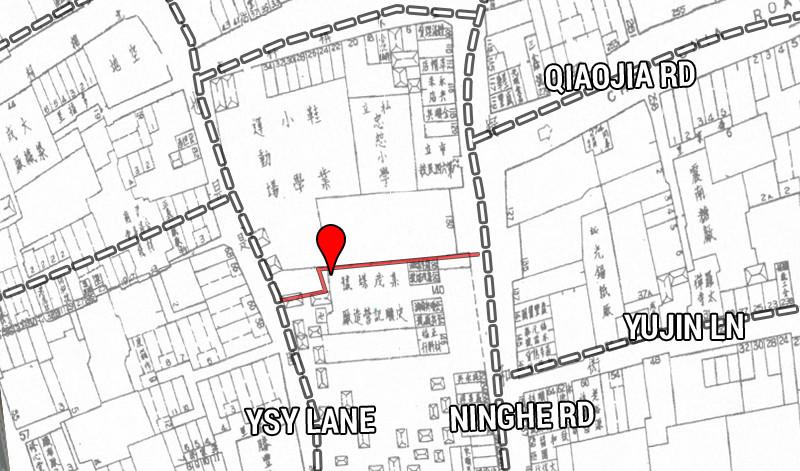 1946. Property Map of Shanghai City. Source: Virtual Shanghai