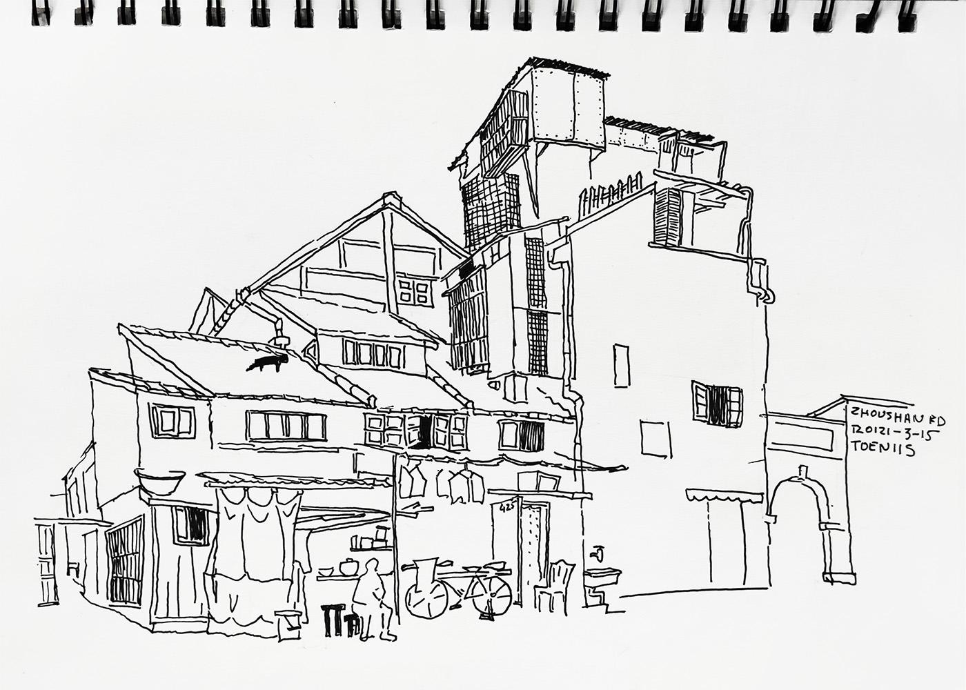 Artist: Toeniis. 425 Zhoushan Road
