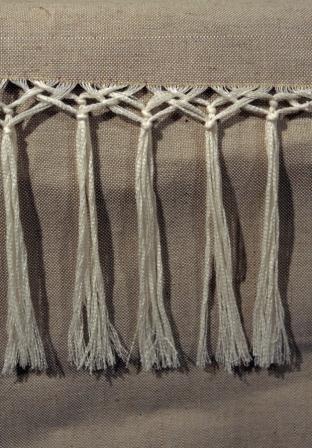"""Как сделать красивую бахрому на шарфе - Дюсш 2 """"Юность"""""""
