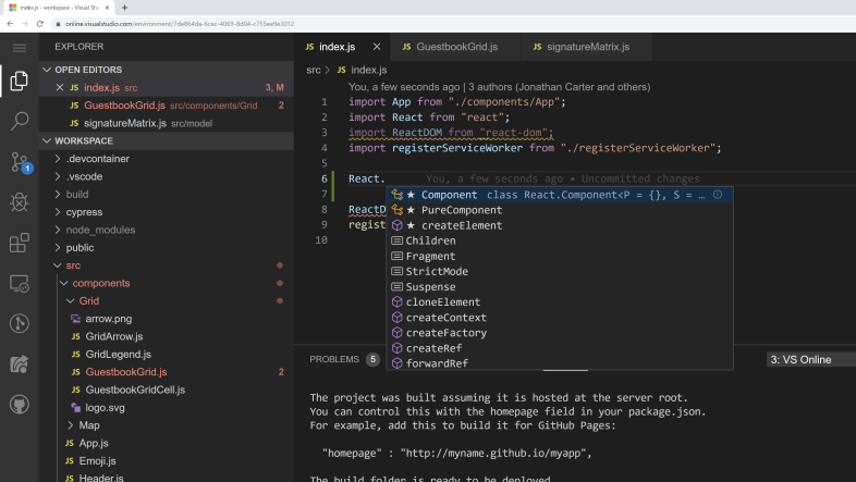 Visual Studio Code Online