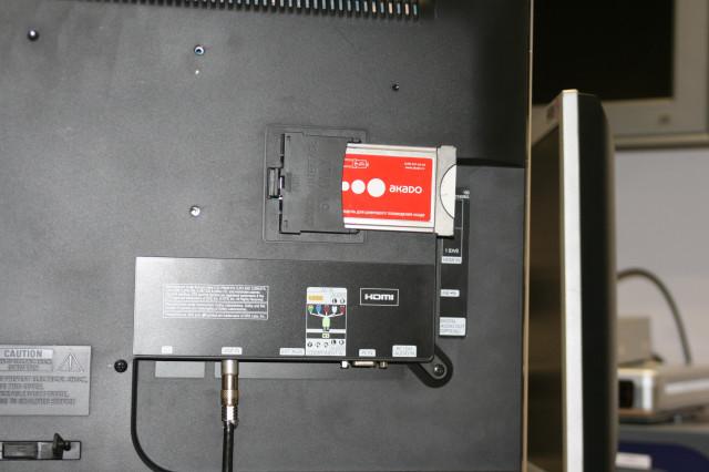 Установка в телевизор CAM модуля - Техническая